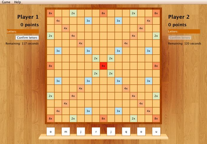 Marek Oravec | Project: Scrabble